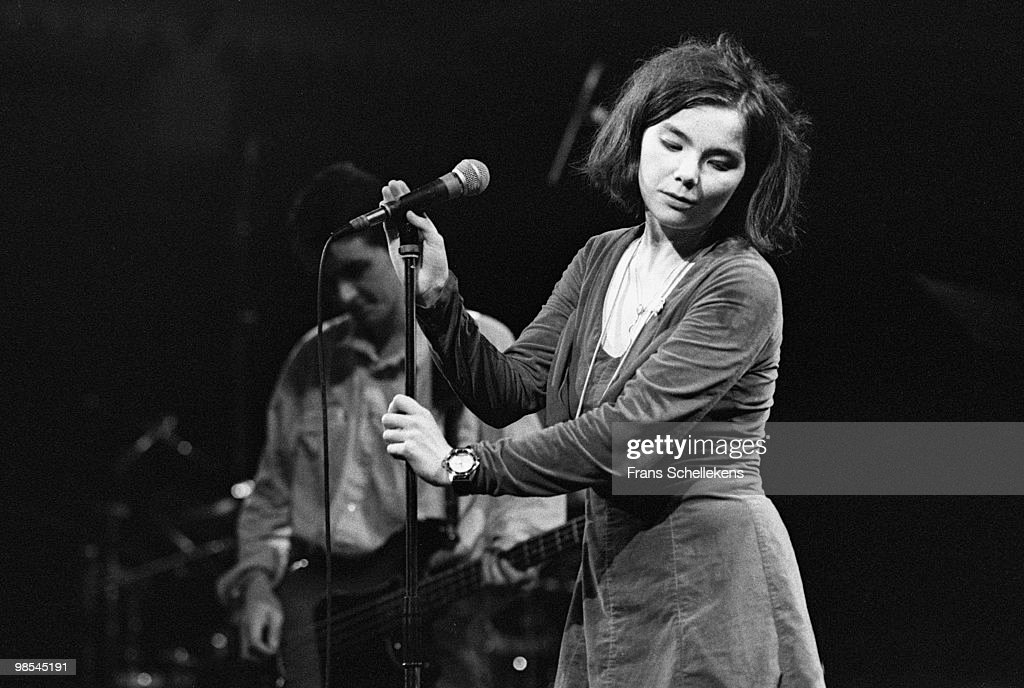 Bjork from The Sugarcubes performs live on stage at Paradiso in Amsterdam, Netherlands on July 18 1988