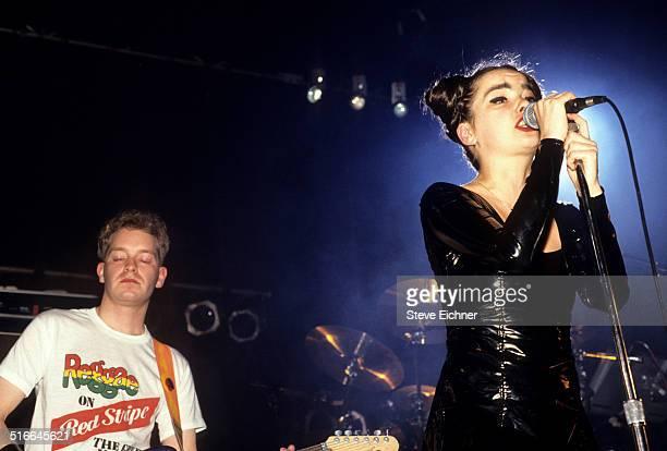 Bjork of Sugarcubes performs at Roseland Ballroom New York April 1 1992