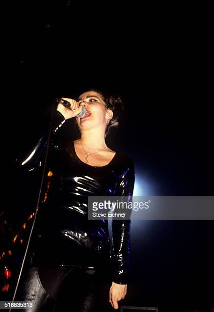 Bjork of Sugarcubes performs at Roseland Ballroom New York April 1 1992