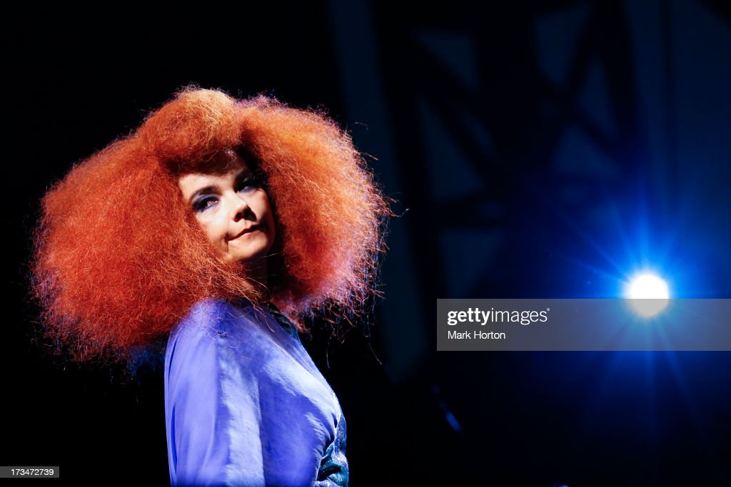 Bjork performs on Day 9 of the RBC Royal Bank Bluesfest on July 13, 2013 in Ottawa, Canada.