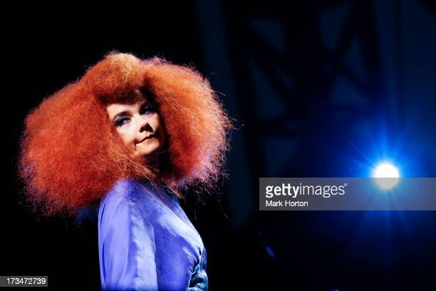Bjork performs on Day 9 of the RBC Royal Bank Bluesfest on July 13 2013 in Ottawa Canada