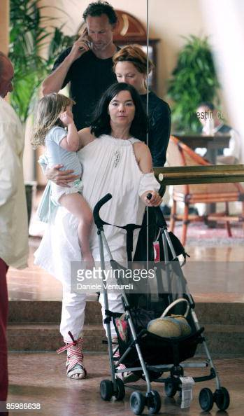Bjork with daughter Isadora and...