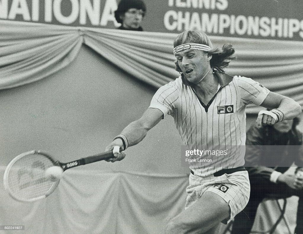 Bjorn Borg, who dropped out of the Canadian Tennis Open, was justly cleared of faking illness, says Mrs. Ella Dobey of Toronto. He's the finest.