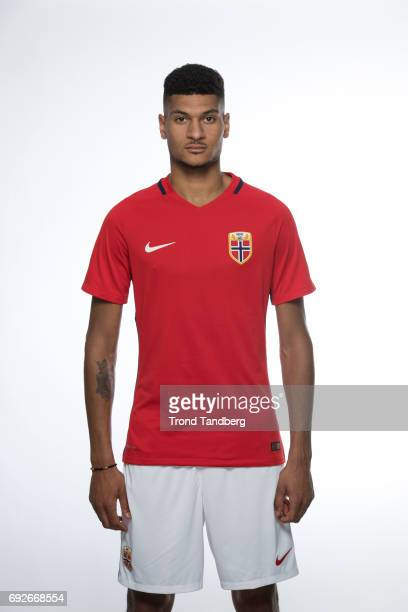 Bjorn Maars Johnsen of Norway National Team during Photocall at Ullevaal Stadion on June 5 2017 in Oslo Norway