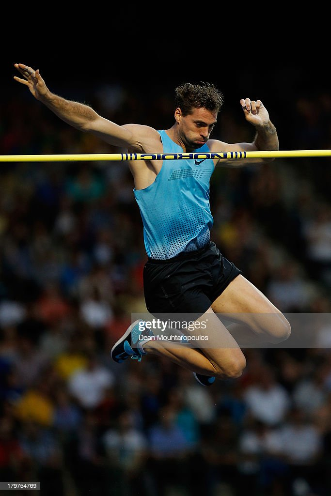 Bjorn Otto of Germany competes in the Pole Vault Men during the 2013 Belgacom Memorial Van Damme IAAF Diamond League meet at The King Baudouin Stadium on September 6, 2013 in Brussels, Belgium.