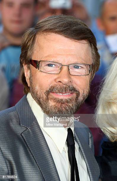 Bjorn Ulvaeus attends the world premiere of 'Mamma Mia' the Movie at the Odeon Leicester Square on June 30 2008 in London