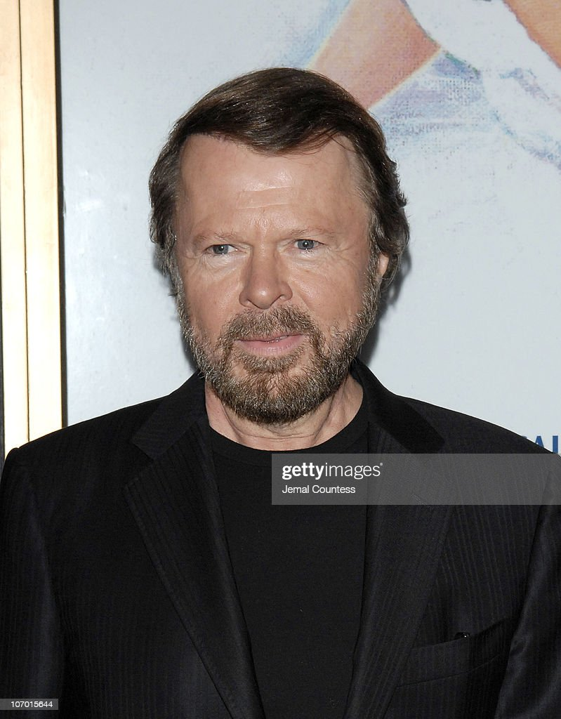 Bjorn Ulvaeus of ABBA during 'Mamma Mia!' 5th Anniversary Celebratory Performance - Arrivals - October 18, 2006 at Cadillac Winter Garden Theatre in New York City, New York, United States.