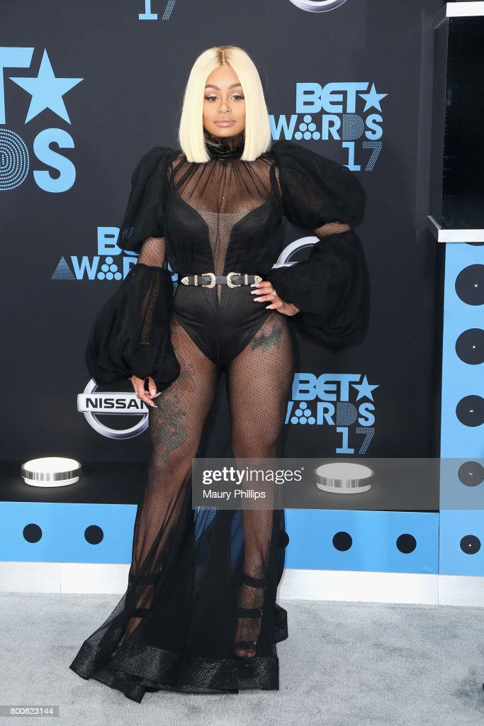 Blac Chyna at the 2017 BET Awards at Microsoft Square on June 25, 2017 in Los Angeles, California.