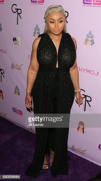 Blac Chyna attends Blac Chyna's birthday celebration and unveiling of her 'Chymoji' Emoji Collection at Hard Rock Cafe on May 10 2016 in Hollywood...