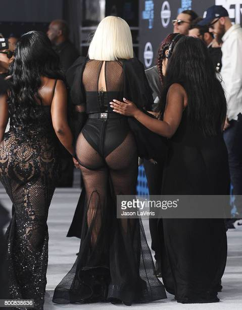 Blac Chyna attends the 2017 BET Awards at Microsoft Theater on June 25 2017 in Los Angeles California