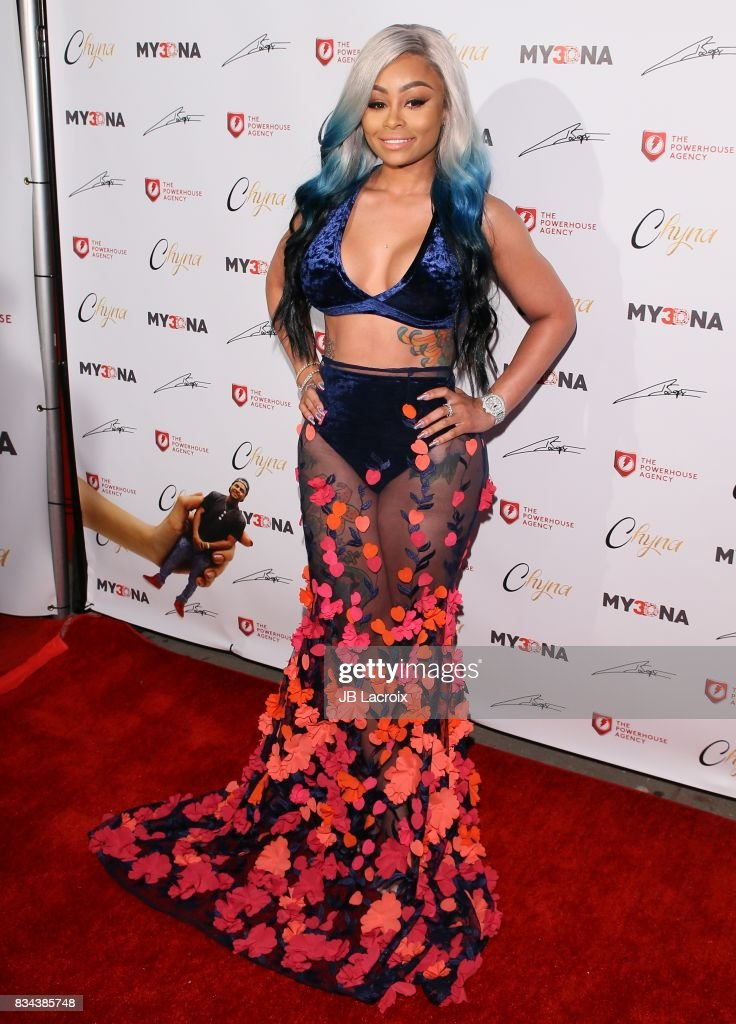 Blac Chyna attends the launch of her 'Blac Chyna Figurine Dolls' on August 17, 2017 in Los Angeles, California.