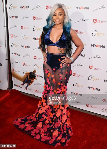 Blac Chyna attends the launch of her 'Blac Chyna Figurine Dolls' on August 17 2017 in Los Angeles California
