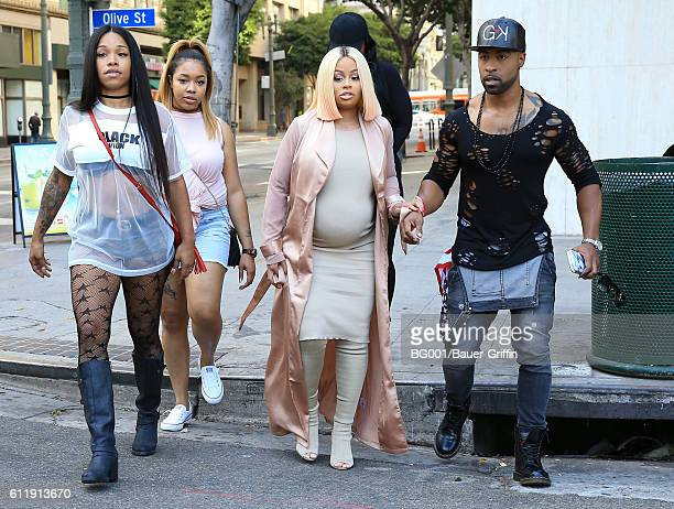 Blac Chyna is seen on October 01 2016 in Los Angeles California