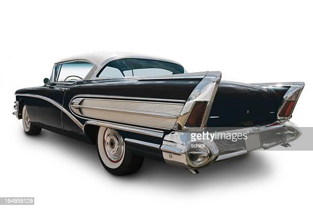 1950-americano negro de automóvel