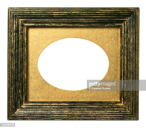 Black and Gold Picture Frame