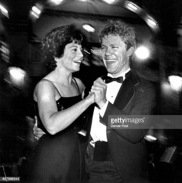 Black and White Ball Joann Falletta director of the Denver Chamber Orchestra danced up a storm with principal trumpeter Todd Teske Credit The Denver...