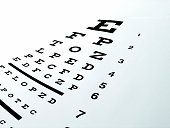 eye chart with glasses on it. slight cyan tintTake a look at other images from this series: