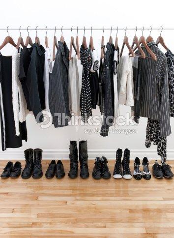 blanco y negro mujer ropa foto de stock thinkstock. Black Bedroom Furniture Sets. Home Design Ideas