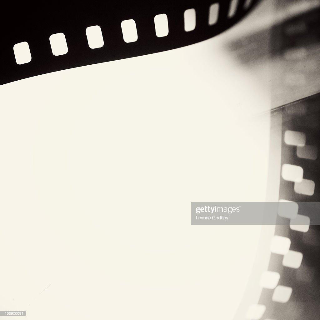 Black and white film : Stock Photo
