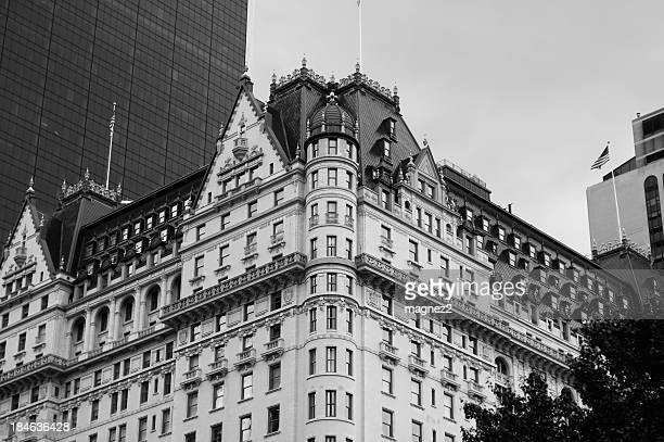 Black and white picture of New York