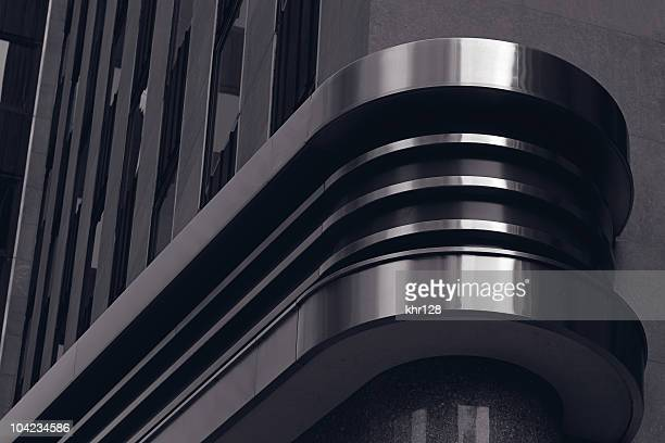 Black architectural design decoration