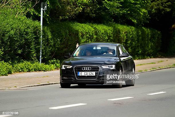Black Audi A3