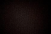Black Background holes spots metal pattern textile material nylon clothing cotton