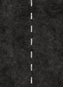 vertical striped line of a road. highway striping