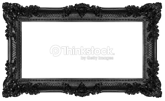 Black Baroque Frame Stock Photo | Thinkstock