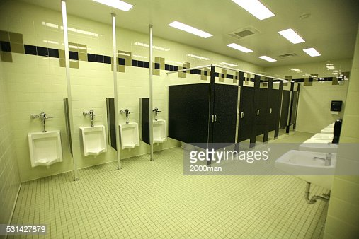 Black Bathroom Stalls black bathroom restrooms and lavatory stalls in fluorescent light