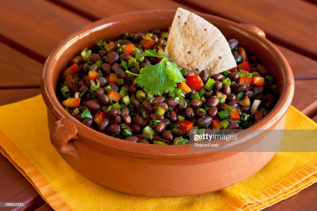 Black Bean Salad : Stock Photo