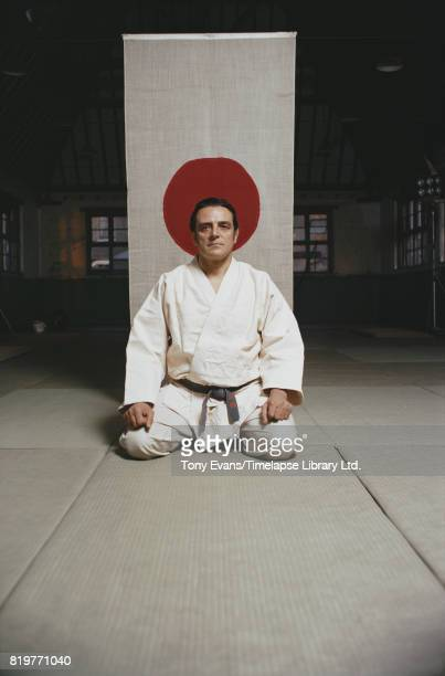 A black belt judo expert in the BBC Documentary 'Japanese George a cockney in Japan' August 1970