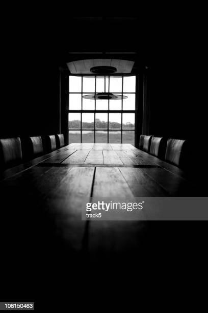 Sala de juntas negro