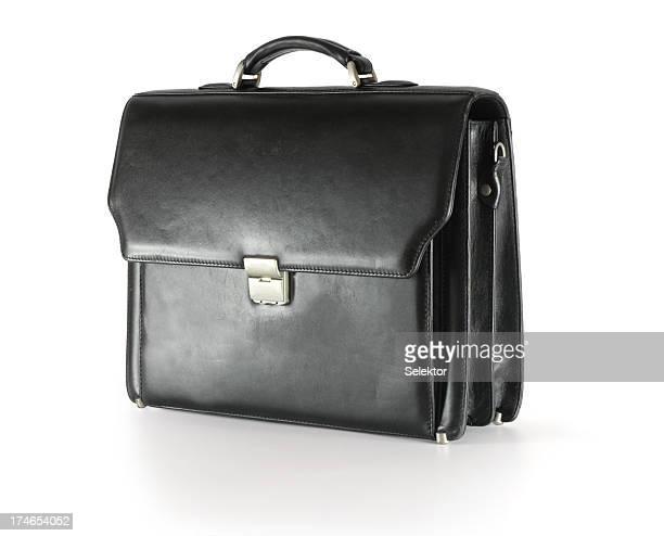 Black briefcase