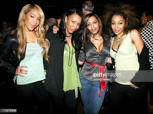 Black Buddafly and Melyssa Ford during Bud Light OT Tour with Damon Jones Fat Joe at Hiro in New York City April 4 2006 at Hiro at the Maritime Hotel...