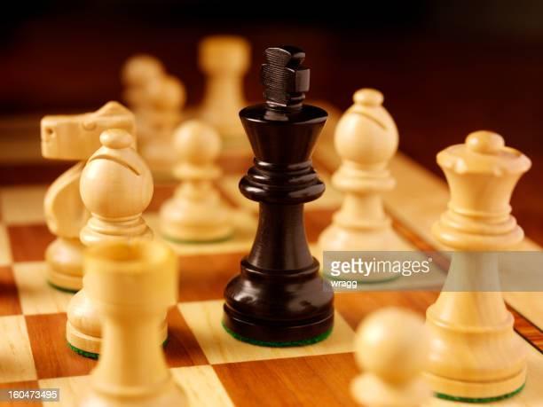 Black Chess King