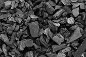 black coal texture, coal for barbecue, space for text