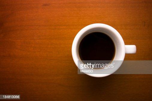 Nero Caffè in una tazza bianca