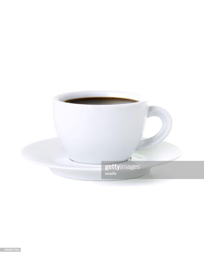 Schwarzer Kaffee : Stock-Foto