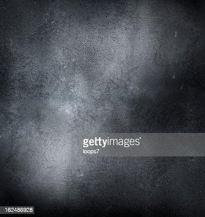 black concrete
