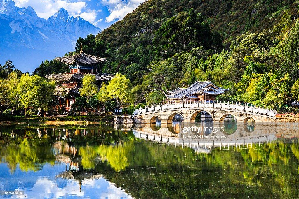 Black Dragon Pool, Lijiang Yunnan China