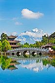 Black Dragon pool, Lijiang,Yunnan,China