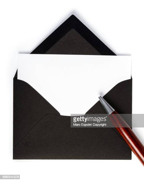 Black envelope