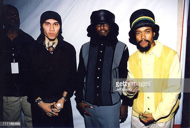Black Eyed Peas at the 1998 Lady of Soul Awards in Los Angeles