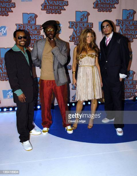 Black Eyed Peas during 2005 MTV European Music Awards Lisbon Arrivals at Atlantic Pavilion in Lisbon Portugal