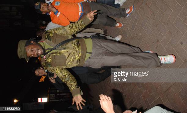 Black Eyed Peas during Black Eyed Peas PreTour Party Outside Arrivals June 15 2006 at The Penthouse Club in London Great Britain