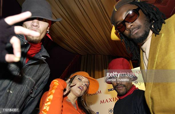 Black Eyed Peas during Maxim Party Featuring 'Black Eyed Peas' at LIGHT At The Bellagio Casino Resort in Las Vegas Nevada United States