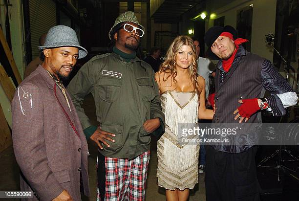 Black Eyed Peas during MTV Video Music Awards Latin America 2004 Audience and Backstage at Jackie Gleason Theater in Miami Florida United States