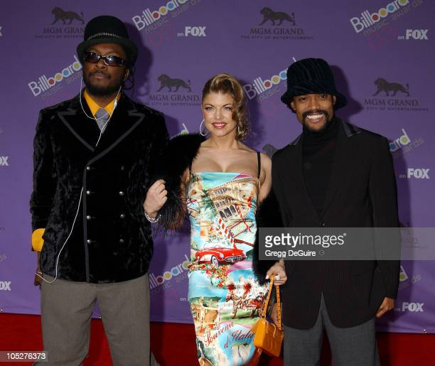 Black Eyed Peas during The 2003 Billboard Music Awards Arrivals at MGM Grand in Las Vegas Nevada United States