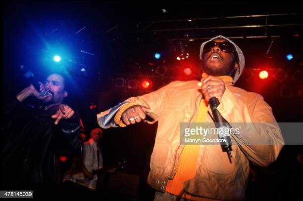 Black Eyed Peas perform on stage at the Astoria London United Kingdom 8th April 2000